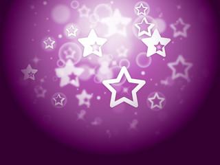Stars Background Means Fantasy Wallpaper Or Sparkling Design.