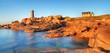 Panoramique du phare de Ploumanach.