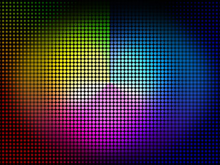 Color Wheel Background Means Colors Hues And Chromatic.