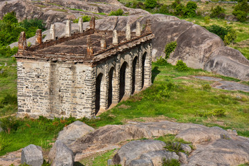 Elephant Stables at Gingee Fort in India