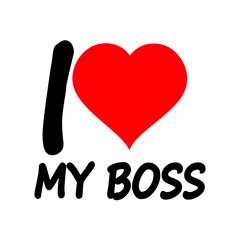я люблю босса