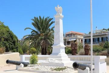 Aegina town center.