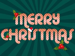 rayons vert merry christmas