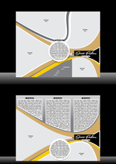 Tri Fold Fashion Street Brochure