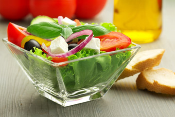 typical greek salad
