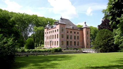 Coloma castle is the country house (Sint-Pieters-Leeuw).