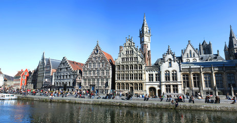 Belgique / Gand - Quai aux herbes