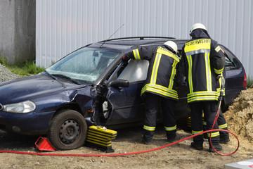 Verkehrsunfall - Bergung