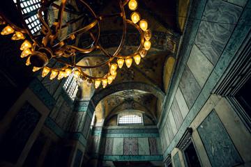 Light setup of Hagia Sophia