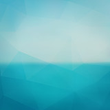 Fototapety Triangle sea abstract blurred background