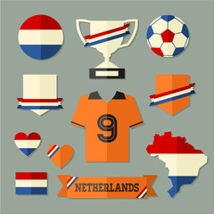 Netherlands Football Icons Collection