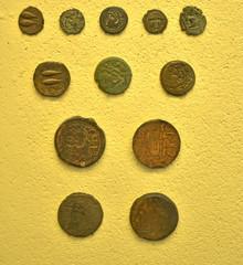 Monedas romanas antiguas