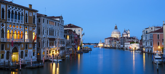 Panoramic view of the Grand Canal