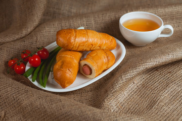 Sausages in tne buns