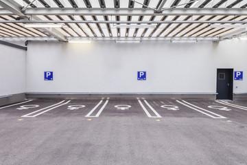Parkhaus Frauenparkplatz © Matthias Buehner
