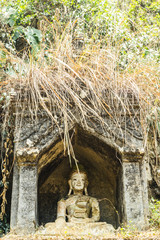 Old temple in Chiangmai Thailand