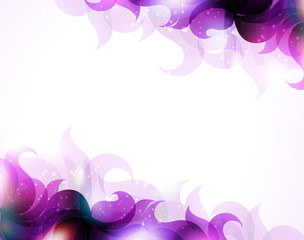 Purple petals background