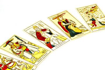 Five Tarot Cards Used for Fortune Telling