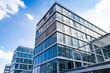 Leinwanddruck Bild - Bürogebäude -- modernes Gebäude