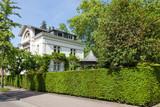 Fototapety Straße - Haus und Garten