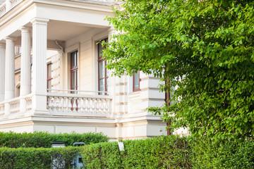 Altbau in Deutschland - Haus und Garten