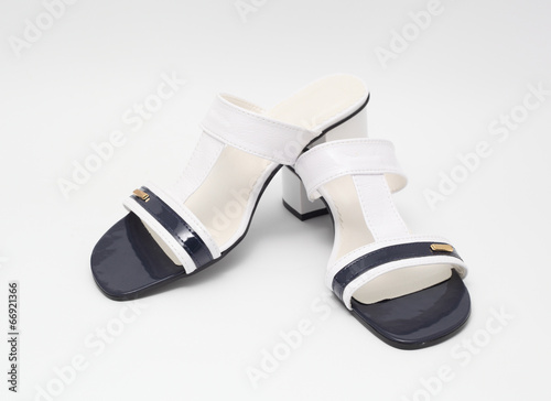 canvas print picture sandals