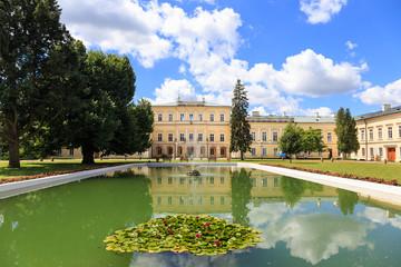The Palace of Czartoryski family in Pulawy, Poland