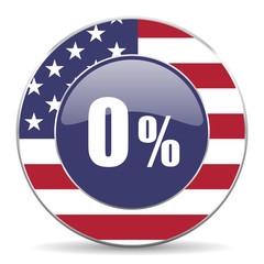 0 percent american icon