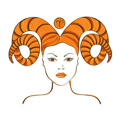 Zodiac sign of Aries