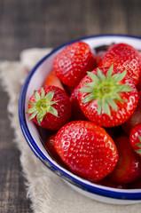 Erdbeeren, Obst, erdbeere, shabby
