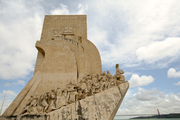 Monument to the Discoveries, Belem Lisbon Portugal