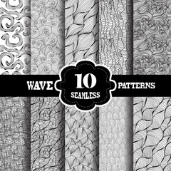 seamless patterns set