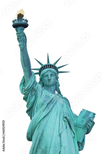 Aluminium Standbeeld Statue of Liberty. New York City.