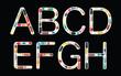 Alphabet with pills