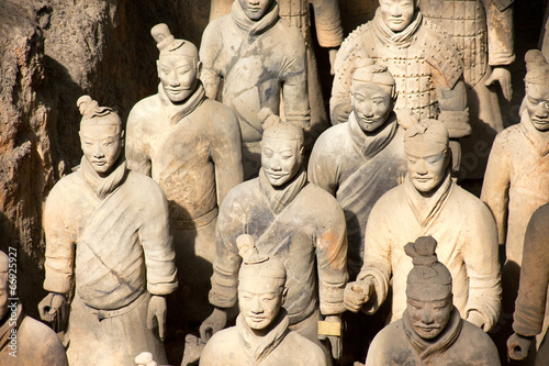 Staande foto Xian Terrakotta Armee in Xi'an