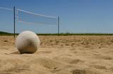Fototapeta Beach volleyball court