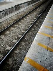 Rail et quai