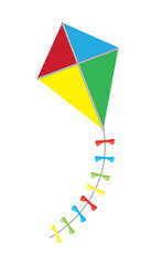 vector colorful kite