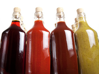 Barbecue hot sauces