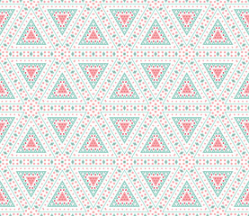 Tribal ethnic seamless pattern. Vector illustration for your cut