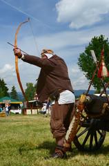 Jagd mit Pfeil und Bogen