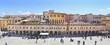 Leinwanddruck Bild - Ascoli Piceno - The main square, Piazza del Popolo
