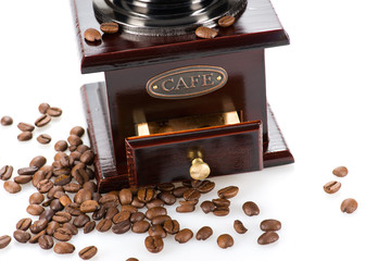 Part of coffee mill