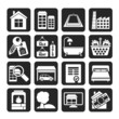 Silhouette Real Estate objects and Icons