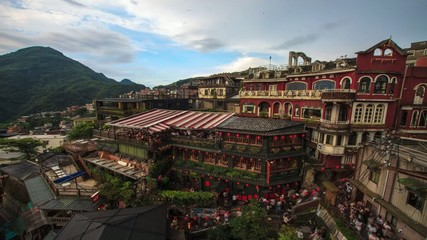 Time lapse of Jiufen, Taiwan