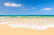 canvas print picture - Beautiful ocean beach
