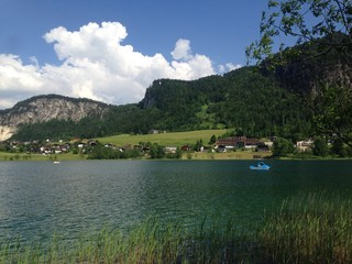 A beautiful lake in Tirol, Austria
