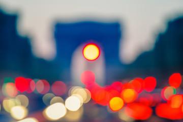 Background: Arc de Triomphe, Paris