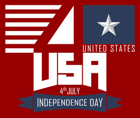 4 th of July, Happy independence day USA.