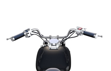 Motorcycle Bar Isolated